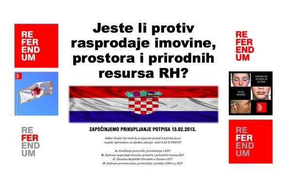 """""""Hrvatski narode probudi se, recimo NE"""""""