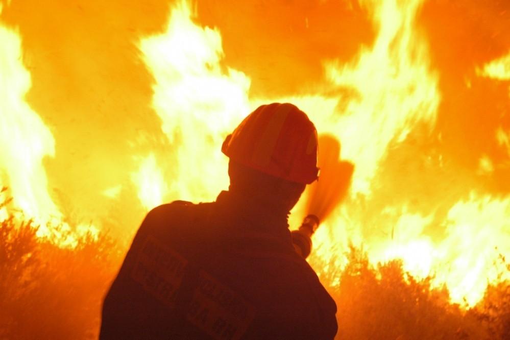 Požar i vatrogasci (Ilustracija)