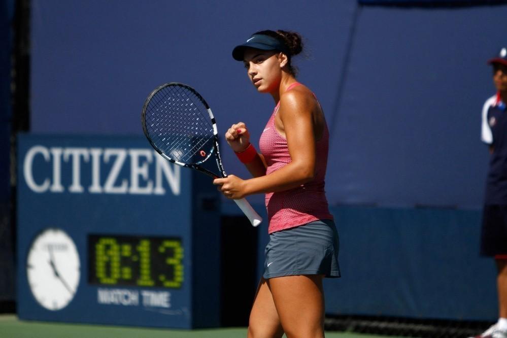 Ana Konjuh na juniorskom US Openu 2013.