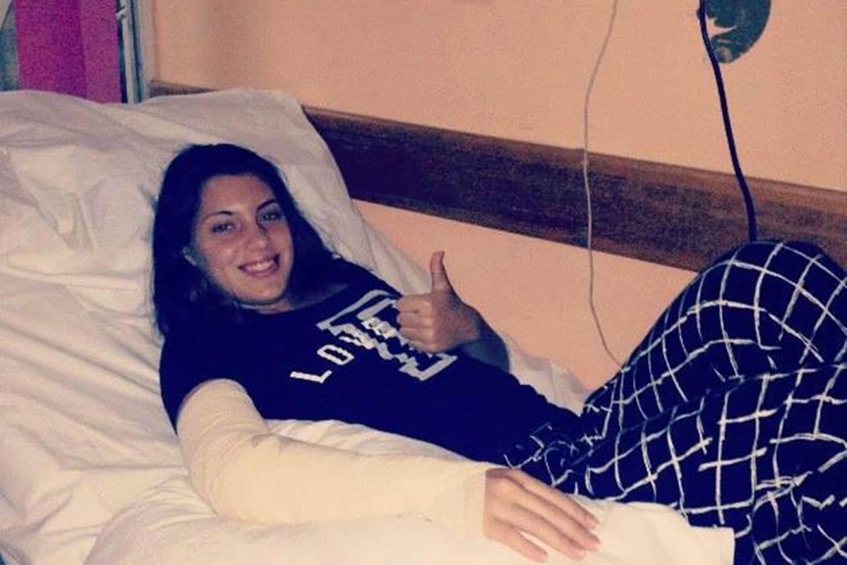 Ana Konjuh nakon operacije lakta