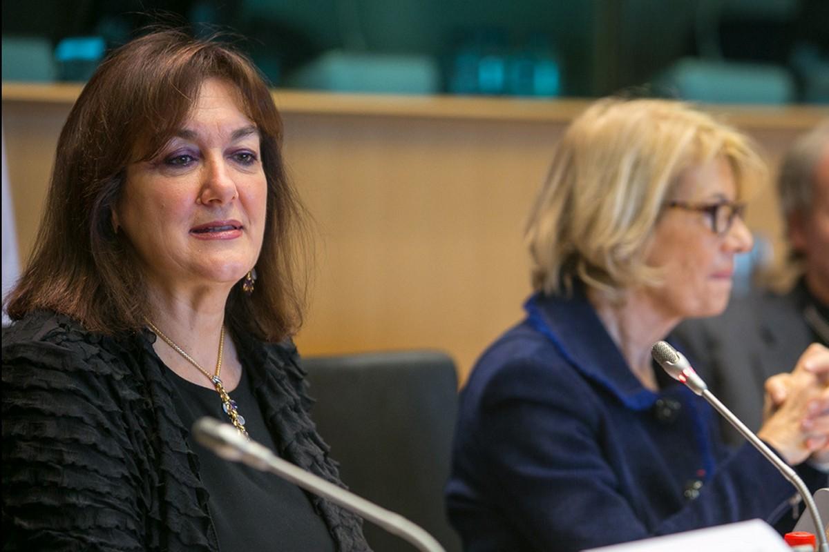 Dubravka Šuica u Europskom parlamentu
