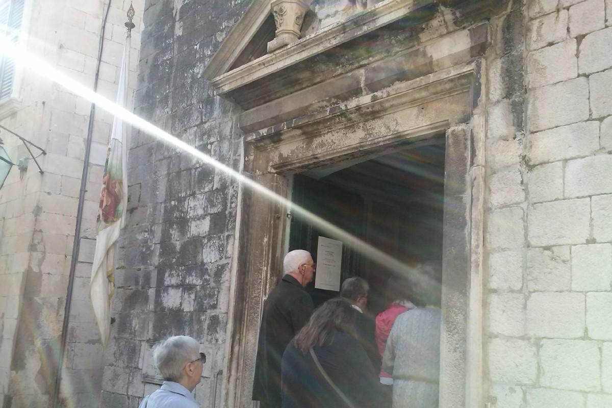 Misa u crkvi svetog Josipa