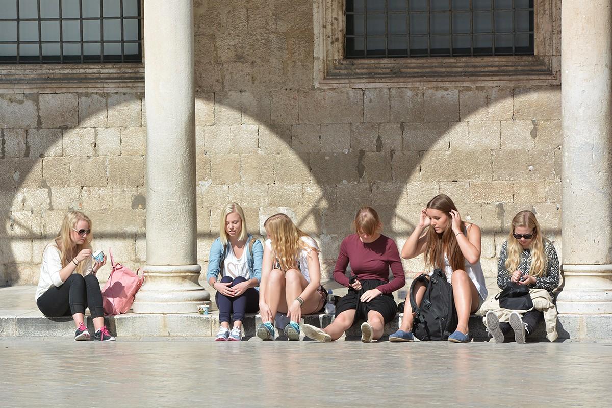 Špica turisti
