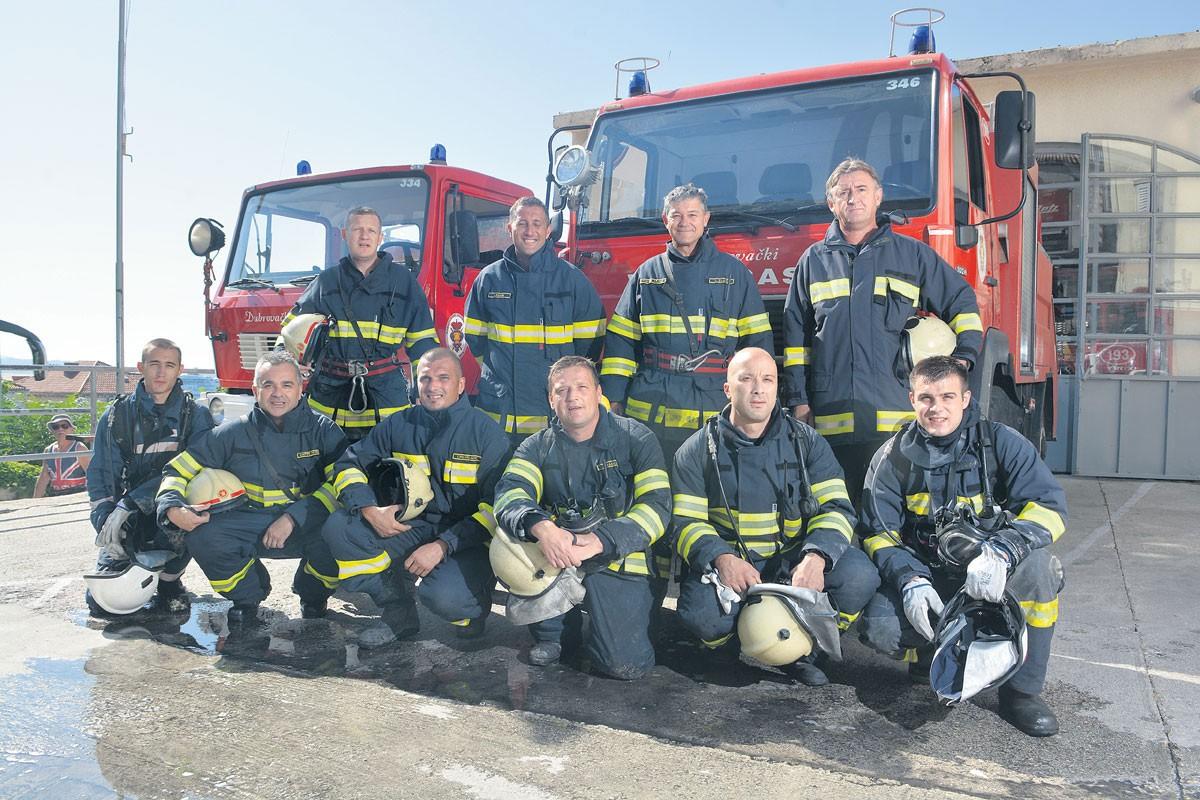 Dubrovački vatrogasci, reportaža