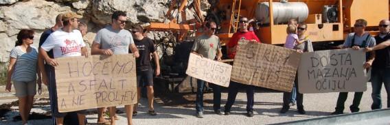"""HRVATSKE CESTE """"Znamo za prosvjed na Mljetu, ali…"""""""