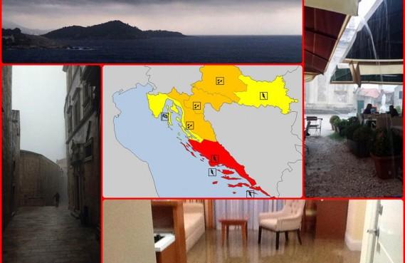 SIMEON HARA Voda nije za piće, 26 intervencija vatrogasaca, proglašena crvena uzbuna meteoalarma!