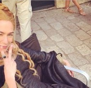 SKORO PA SELFIE Cersei Lannister se 'glupira' u Dubrovniku
