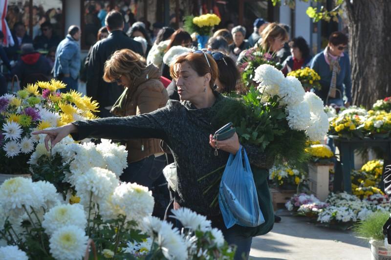 FOTO Cvijeće na Gruškoj placi pomalo nestaje, ali još ima 'kušina'