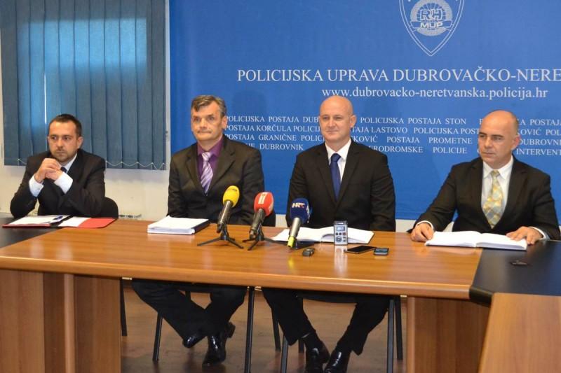 USPJEH DUBROVAČKE POLICIJE Uhićeno 15 osoba, članova zločinačke organizacije
