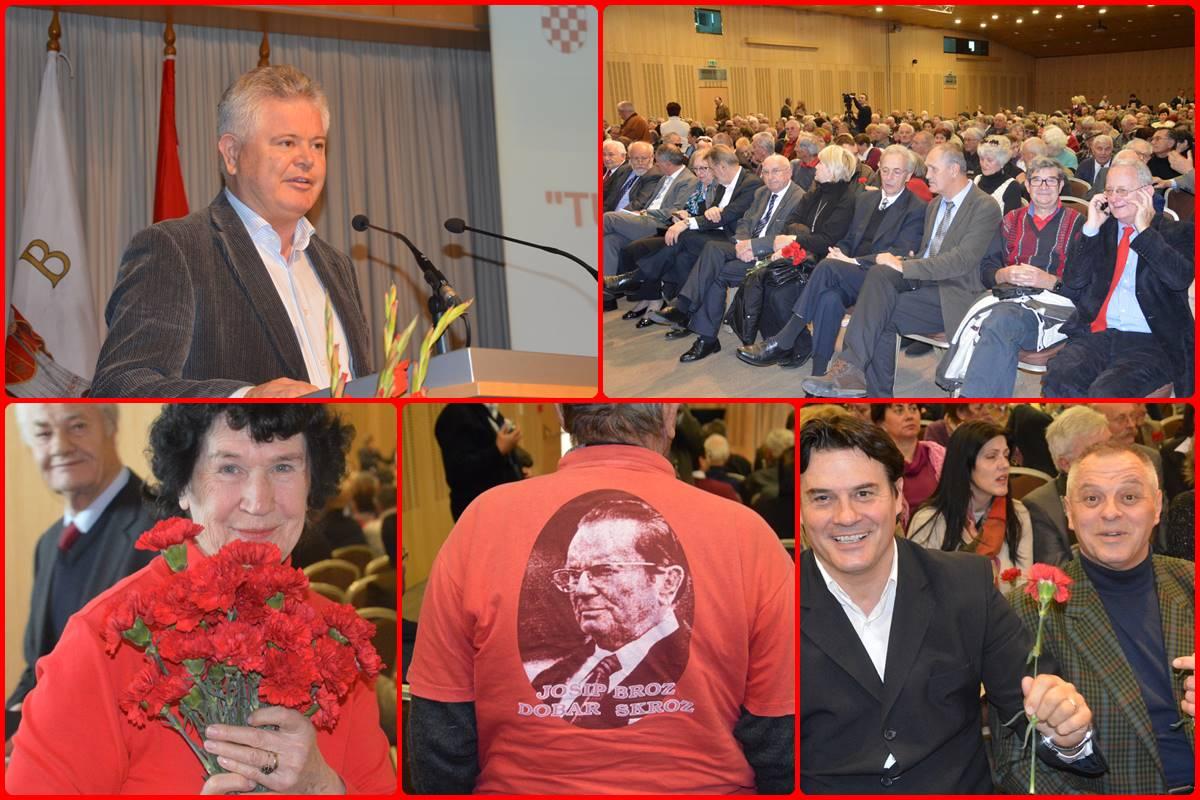Svečani skup dalmatinskih antifašista