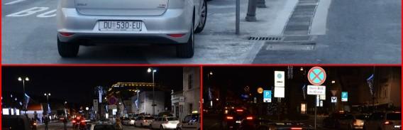 FOTO: DVOSTRUKI STANDARDI Šefovo se auto ne dira, bez obzira koliko se izruguje građanima!