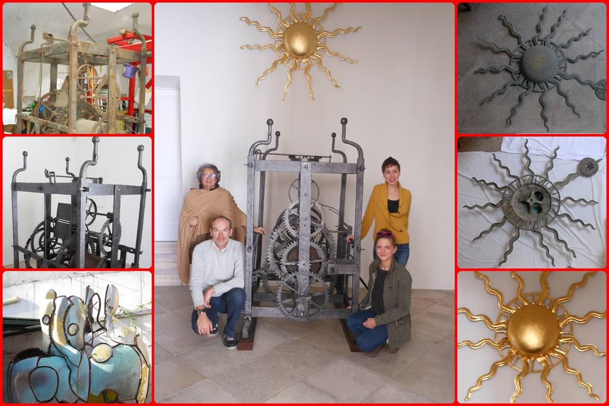 Restauracija satnog mehanizma sa zvonika