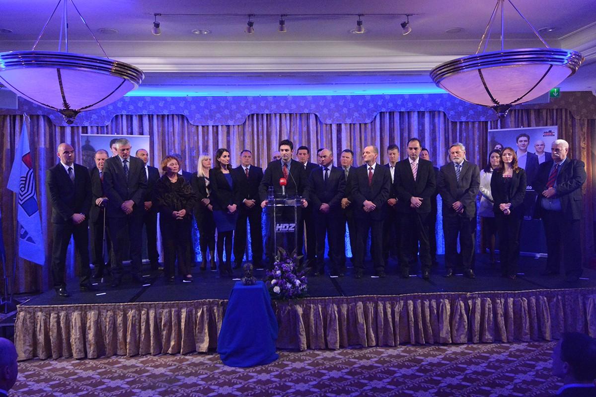 HDZ kandidati za Gradsko vijeće 2015.