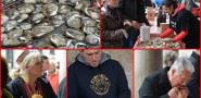 FOTO Festa od kamenica na Stradunu!