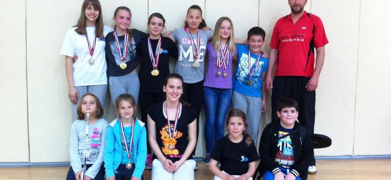 DALMATINSKA LIGA 13 medalja za Aedium