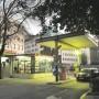 Prodana benzinska postaja kraj zgrade Atlantske plovidbe