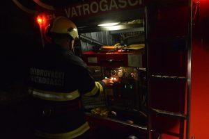 ZAVRŠEN OČEVID Kvar na električnim instalacijama uzrok požara u Hebrangovoj