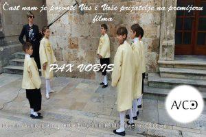 Premijera filma Pax vobis @ Kino Sloboda | Dubrovnik | Dubrovačko-neretvanska županija | Hrvatska