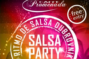 SALSA PARTY - World dance day! @ Caffe bar Promenada