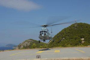 HITNI PRIJEVOZ PACIJENATA U akciji zrakoplov Vlade RH i helikopteri HRZ-a