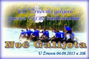 Noć galijota @ Žrnovo | Hrvatska