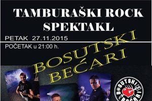 TAMBURAŠKI ROCK SPEKTAKL Bosutski bećari @ Restoran Spiona