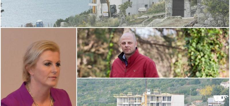 OTKRIVAMO Brat predsjednice Grabar Kitarović gradi apartmane na jugu Hrvatske