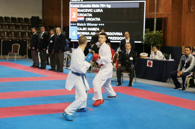 FOTO Prvenstvo Balkana u karateu u Gospinom polju, evo kako se plasirao naš Daniel Worman