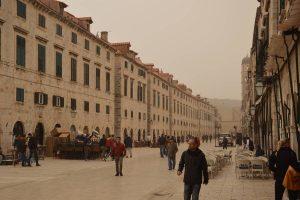 Prije godinu dana pustinjski pijesak 'obojao' Dubrovnik