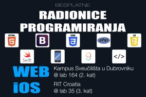Besplatne radionice iOS i web programiranja @ Informatički klub Futura | Dubrovnik | Dubrovačko-neretvanska županija | Hrvatska