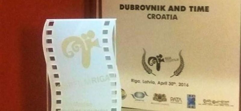 TOURFILM RIGA Ponovo nagrađen film 'Dubrovnik and time'!