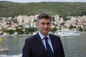Andrej Plenković boravi danas u Dubrovniku