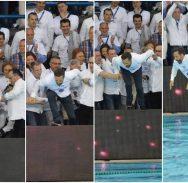 FOTO Predsjednik Uprave Juga s VIP tribine završio u bazenu! U robi