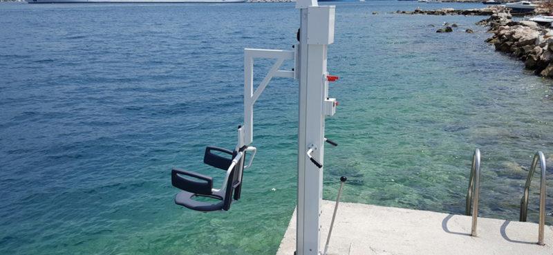 LIJEPE VIJESTI Lift za invalide vraćen u more u odličnom stanju