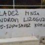 MLADEŽ HNS-a: Osuđujemo fašistički grafit u Mokošici