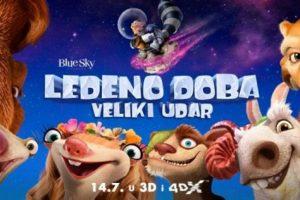 LEDENO DOBA: VELIKI  UDAR  3D – animirana avantura @ Kino Visia