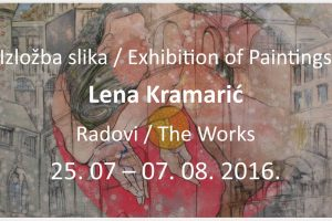 Radovi Lene Kramarić @ Izložbeni prostor DPDS-a