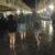 FOTOGALERIJA Noćni đir Stradunom, od ljetnih haljina do kabanica