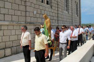 Na Brgatu se danas slavi sv. Ana