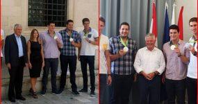 FOTO Šampanjac i regali za srebrne Olimpijce