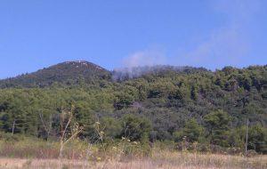 Požar na Šipanu, očekuje se dolazak kanadera