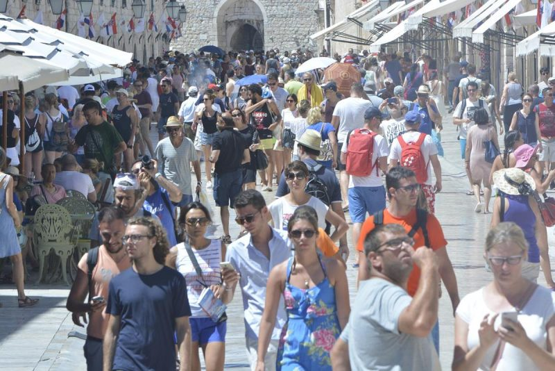 REKORDNA 2016. U Hrvatskoj 91 milijun noćenja, Dubrovnik najbolji