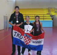 TEAKWON-DO 'Sharkovci' Daria i Filip do četiri medalje!