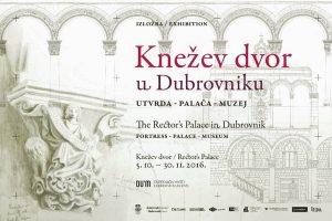 'Knežev dvor u Dubrovniku, utvrda – palača – muzej' @ Knežev dvor