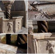 FOTO Oštećena Mala Onofrijeva fontana