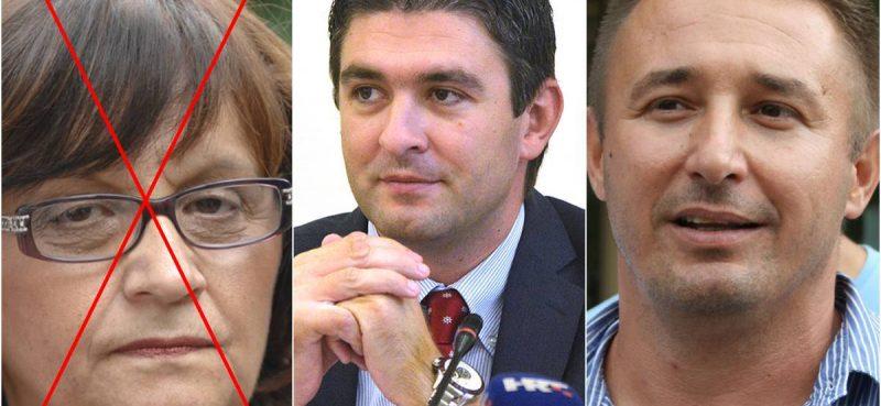 Krstičević u izvršnu vlast, Petrov na čelo Sabora, a Franković i Kristić postaju zastupnici