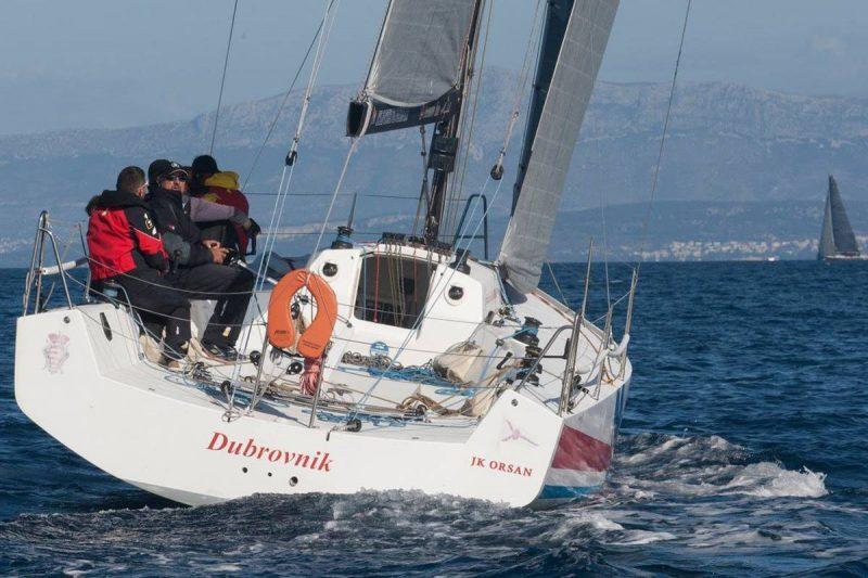 14.REGATA 'JABUKA' Orsanov 'Dubrovnik' drugi