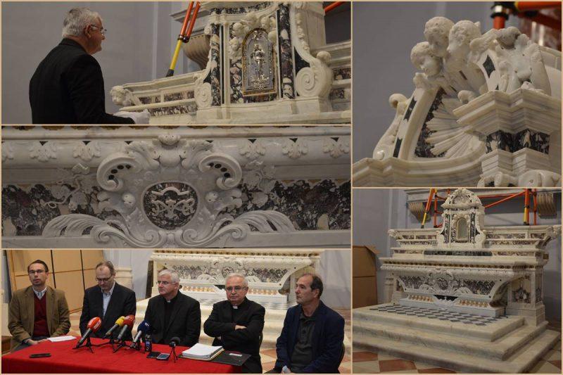 FOTOGALERIJA Katedrala zasjala u novom ruhu, vratio se barokni oltar!
