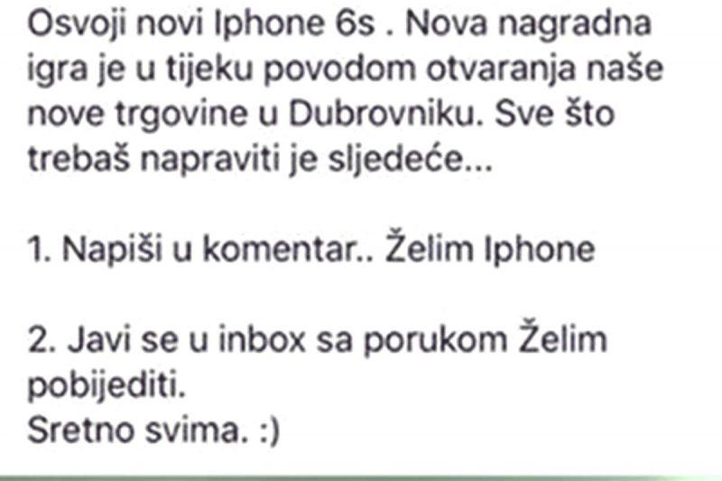 OGORČENA ČITATELJICA Mobile Shop je internetska prevara, ne nasjedajte na 'otvaranje butige u Dubrovniku'