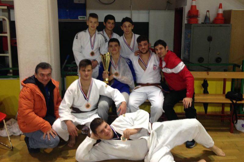 Kadeti Judo kluba Dubrovnik 1966 treći u Hrvatskoj